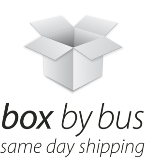 Shipping Box by Bus
